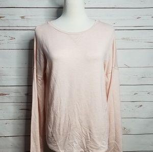 Gilligan & OMalley Womens Small Sleep Shirt Pink
